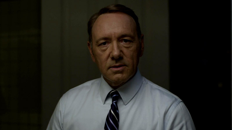 Still image from 'House of Cards'